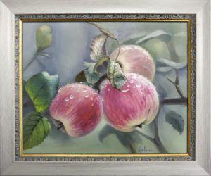 """картина маслом """"Яблоки"""""""