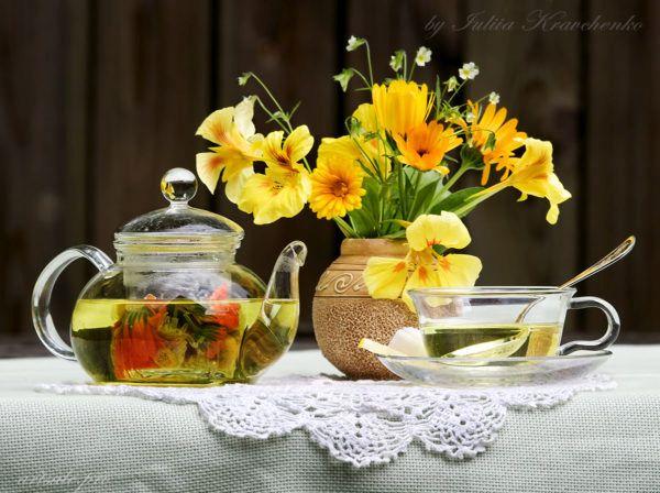 """фотонатюрморт """"Цветочный чай"""""""