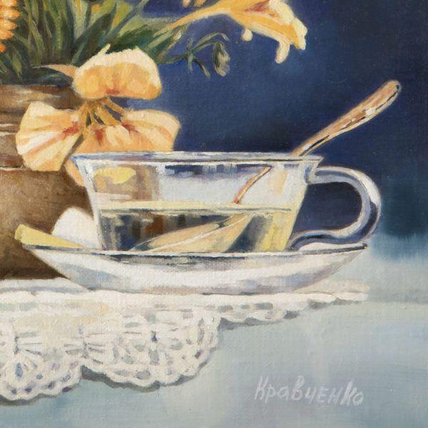 """картина """"Цветочный чай"""""""