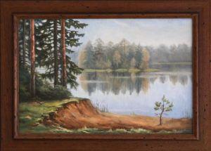 """картина маслом """"остров"""", автор Юлия Кравченко, artsale.pro"""
