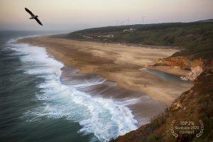 """Художественное фото """"Пляж в Назаре. Португалия"""" автор Юлия Кравченко."""